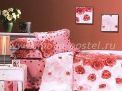 """Бельё для спальни """"Лепестки роз"""""""