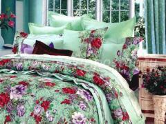 """""""Нежные травы"""" для семейной спальни"""