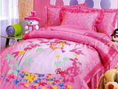 """Комплект постельного белья для девочек """"Розовые грёзы"""""""