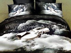 """Комплект постельного белья """"Скрипка в облаках"""""""