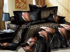 """Комплект постельного белья """"Тюльпаны и узоры"""" в интернет-магазине Моя постель"""