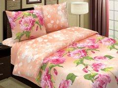 """Комплект постельного белья """"В крупный цветок"""""""