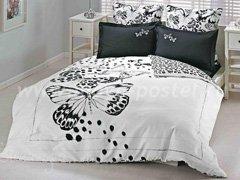 """Комплект постельного белья """"Чёрные бабочки"""""""