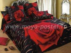 """Комплект постельного белья """"Розы на тёмном"""""""