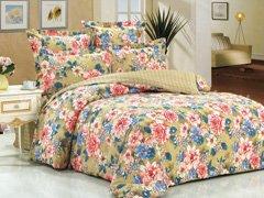 """Комплект постельного белья """"Цветочный рай"""""""