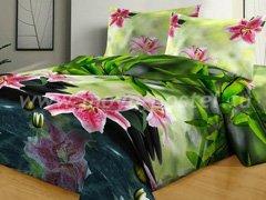 """Комплект постельного белья """"Сад с орхидеями"""""""