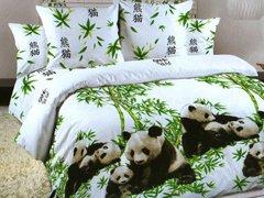 """Комплект постельного белья """"Панды"""" в интернет-магазине Моя постель"""