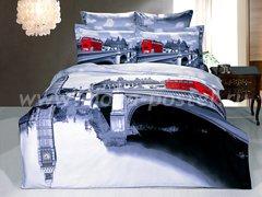 """Комплект постельного белья из сатина """"Лондонский мост"""""""