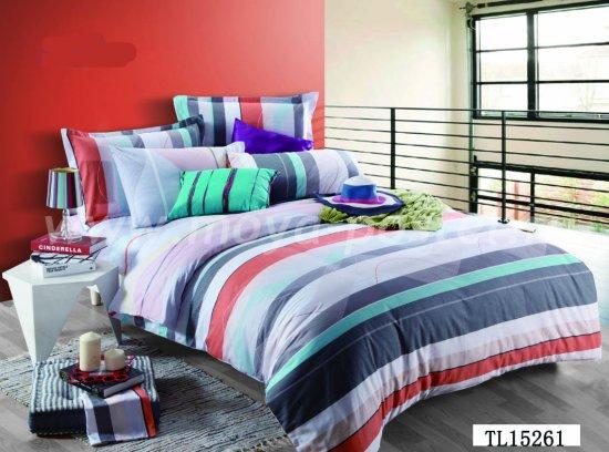 Комплект постельного белья в полоску SN-976 ++  в интернет-магазине Моя постель