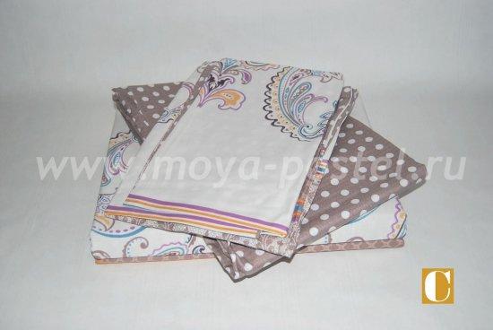 Комплект постельного белья люкс-сатин A16 в интернет-магазине Моя постель - Фото 2