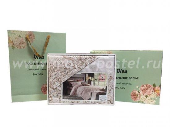 Постельное белье с вышивкой CN019 (семейное) в интернет-магазине Моя постель - Фото 8