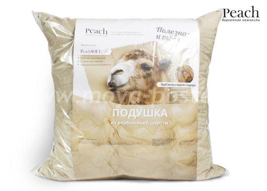 Подушка Peach из Верблюжьей Шерсти Средняя (70х70) и другая продукция для сна в интернет-магазине Моя постель