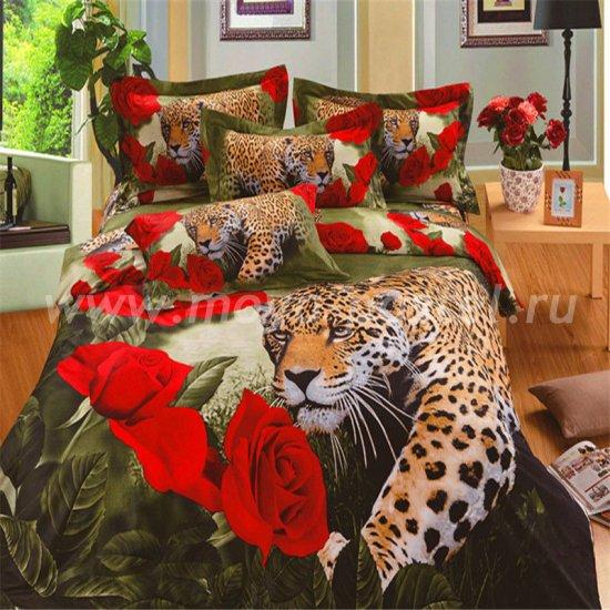 Постельное белье 3D D037 (семейное, 70*70) в интернет-магазине Моя постель