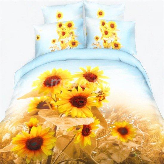 Постельное белье 3D D079 (двуспальное, 50*70) в интернет-магазине Моя постель