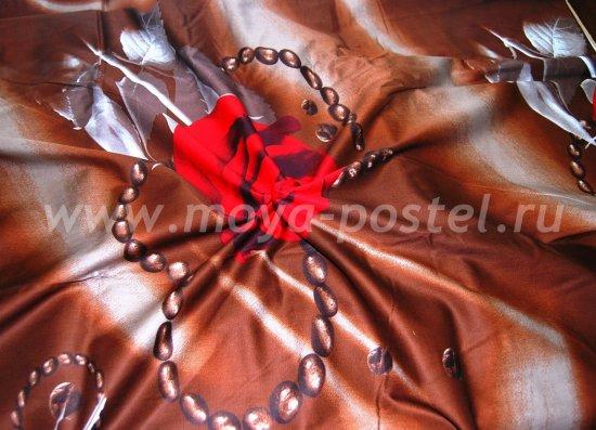 Постельное белье 3D D088 (1,5 спальное, 70*70) в интернет-магазине Моя постель - Фото 4