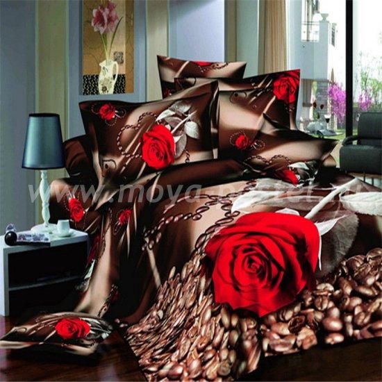 Постельное белье 3D D088 (двуспальное, 50*70) в интернет-магазине Моя постель