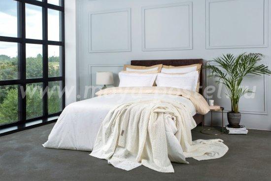 Комплект постельного белья DecoFlux Сатин Евро Cosmos Gold в интернет-магазине Моя постель