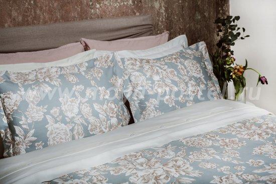 Комплект постельного белья DecoFlux Сатин Евро Peony Crystal в интернет-магазине Моя постель