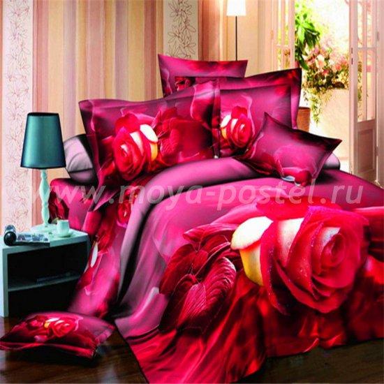 Постельное белье 3D D097 (двуспальное) в интернет-магазине Моя постель