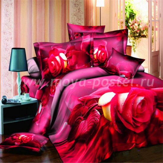 Постельное белье 3D D097 в интернет-магазине Моя постель