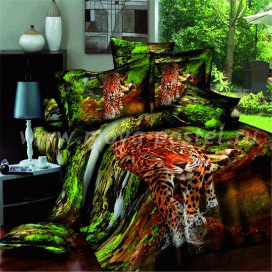 Постельное белье 3D D107 (семейное) в интернет-магазине Моя постель