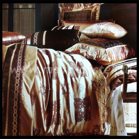 Евро постельное белье элитный жаккард G025 в интернет-магазине Моя постель