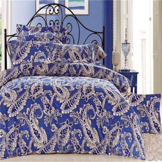 Двуспальный комплект постельного белья делюкс сатин L79 (50*70) в интернет-магазине Моя постель