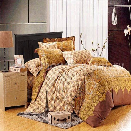 Полуторный комплект постельного белья делюкс сатин L81 (50*70) в интернет-магазине Моя постель