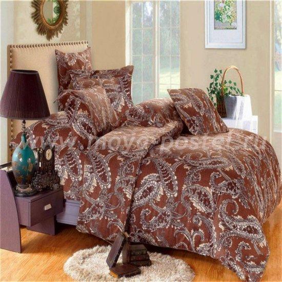 Двуспальный комплект постельного белья делюкс сатин L25 (70*70) в интернет-магазине Моя постель