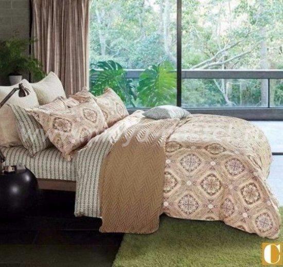 Семейнй комплект постельного белья делюкс Дуэт сатин L113 в интернет-магазине Моя постель