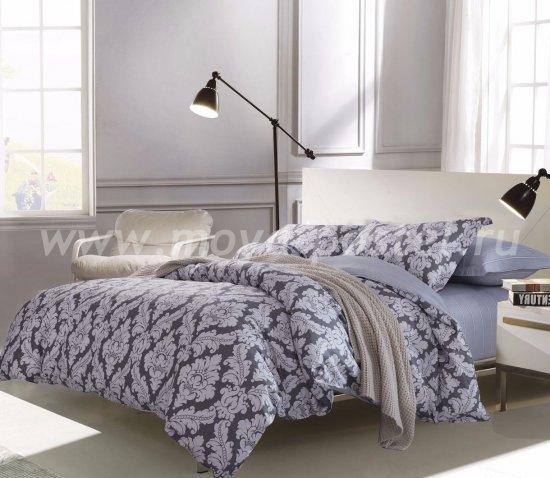 Семейный комплект постельного белья делюкс Дуэт сатин L117 в интернет-магазине Моя постель