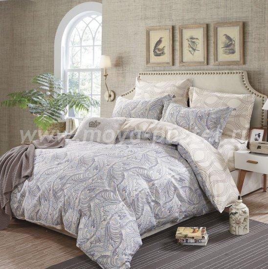 Семейный комплект постельного белья делюкс сатин L118 в интернет-магазине Моя постель