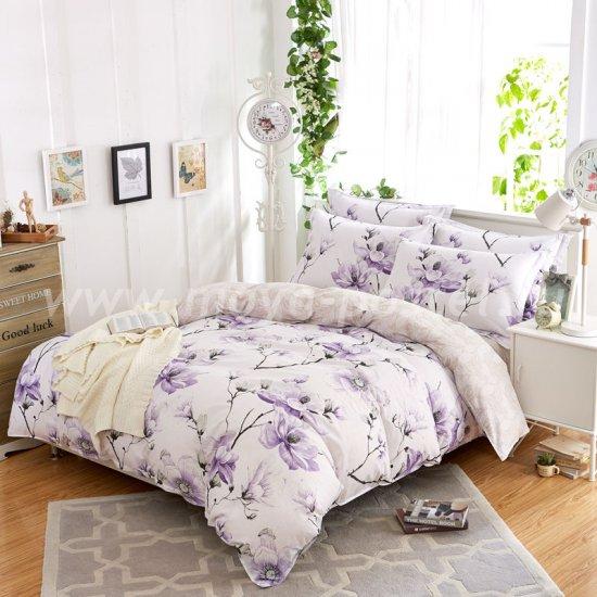 Евро комплект постельного белья делюкс сатин L124 в интернет-магазине Моя постель