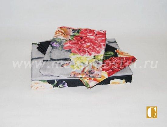 Постельное белье 3D M134 (евро, 50*70) в интернет-магазине Моя постель - Фото 2