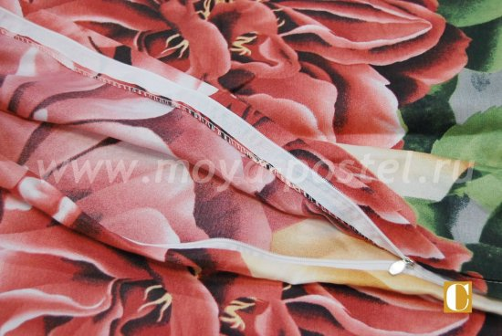 Постельное белье 3D M134 (евро, 50*70) в интернет-магазине Моя постель - Фото 4