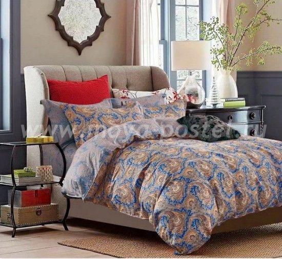Двуспальный комплект постельного белья из сатина C250 (50*70) в интернет-магазине Моя постель