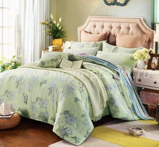Евро комплект постельного белья сатин C256 (70*70) в интернет-магазине Моя постель
