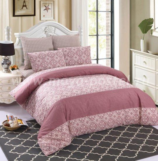 Евро комплект постельного белья сатин C259 (50*70) в интернет-магазине Моя постель
