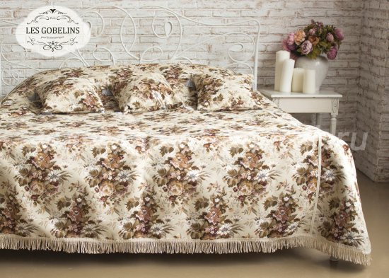 Покрывало на кровать Terrain Russe (140х230 см) - интернет-магазин Моя постель