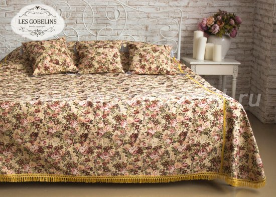 Покрывало на кровать Bouquet Francais (240х220 см) - интернет-магазин Моя постель
