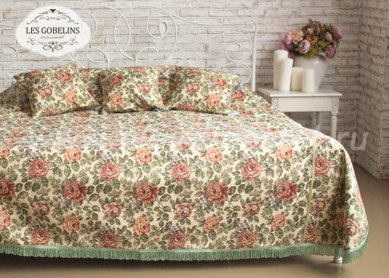 Покрывало на кровать Art Floral (260х230 см) - интернет-магазин Моя постель