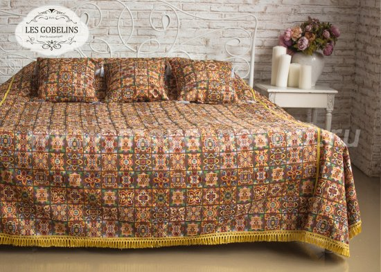 Покрывало на кровать Mosaique De Fleurs (230х220 см) - интернет-магазин Моя постель