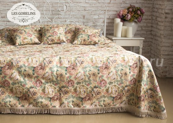 Покрывало на кровать Fleurs Hollandais (230х220 см) - интернет-магазин Моя постель