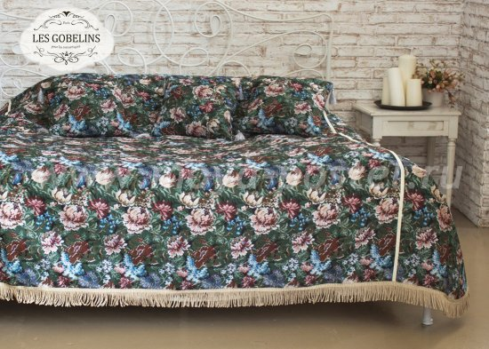 Покрывало на кровать Jardin D'Amerique (150х220 см) - интернет-магазин Моя постель