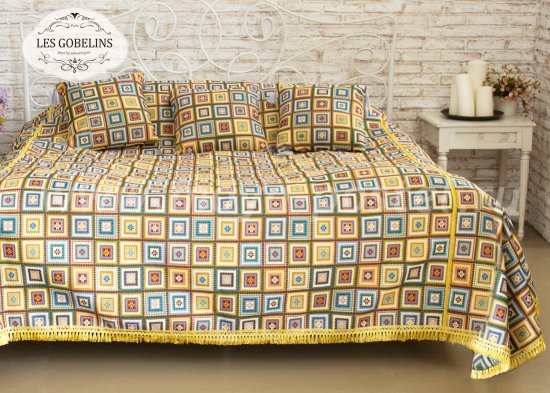 Покрывало на кровать Labyrinthe (250х230 см) - интернет-магазин Моя постель