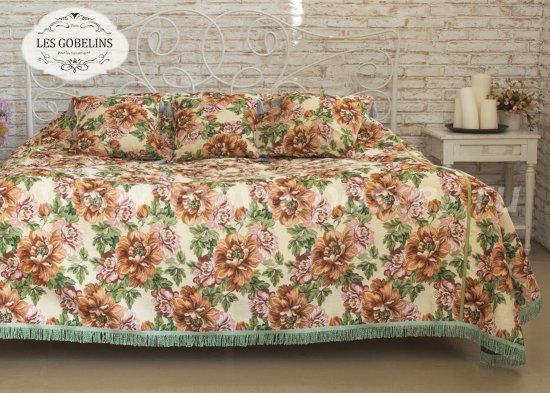 Покрывало на кровать Pivoines (240х260 см) - интернет-магазин Моя постель