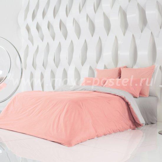 Постельное белье Perfection: Цветущий Георгин + Туманная Гавань (евро) в интернет-магазине Моя постель