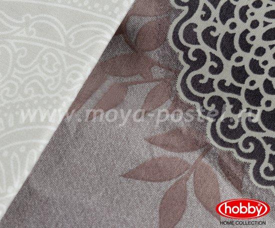 Семейное постельное белье «ALICE» лилового цвета, сатин в интернет-магазине Моя постель - Фото 3