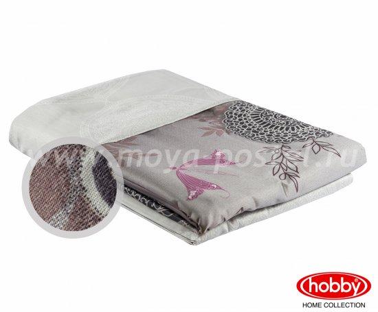 Семейное постельное белье «ALICE» лилового цвета, сатин в интернет-магазине Моя постель - Фото 2