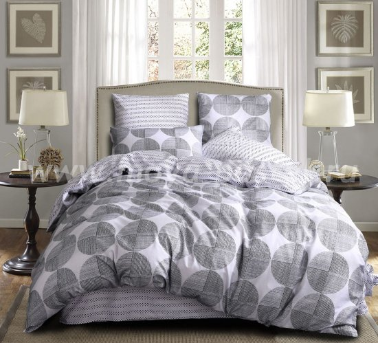 Комплект постельного белья Люкс-Сатин A59 (двуспальное, 70*70) в интернет-магазине Моя постель